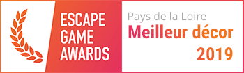 Escape Game Awards Meilleur Décor Pays de la Loire 2019